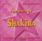 Shakira Greatest Hits Karaoke CD+G Superstar Sound Tracks (UK Import)
