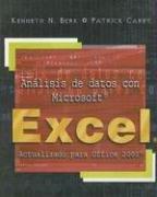 ANÁLISIS DE DATOS CON MICROSOFT EXCEL por Kenneth N. Berk