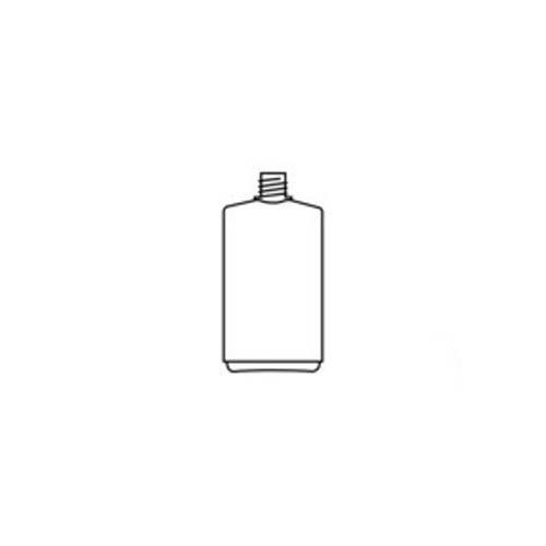 neoLab E-6920 Enghals-Vierkantflasche, 250 mL Nennvolumen mit Schraubverschluss