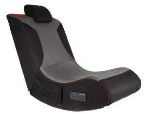 Pro Foldable Gaming Chair w/ Built in Sub Woofer, High Quality Speakers & Adjustable Headrest