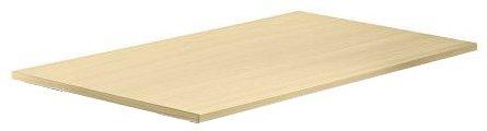 Konferenztisch - Platte (ohne Füße) KONTOR 120 x 80cm Ahorn