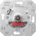 Gira Glühlampen-Dimmer-Einsatz mit Druck-Wechselschalter, 60-600 W, 030200 von Gira - Lampenhans.de