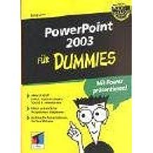 PowerPoint 2003 für Dummies.