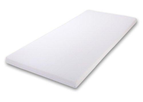 4myBaby BESONDERE Schaumstoffmatratze mit TÜV ZERTIFIZIERT wie Kaltschaummatratze Kinderbettmatratze 10 Größen mit Reißverschluss (90x200-10 cm)