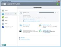 NOD32 Antivirus Typical Screenshot