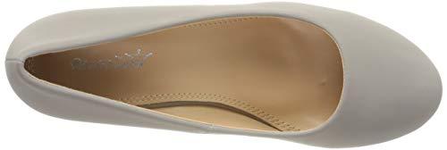 Elara Damen Pumps Keilabsatz Wedges Schuhe mit Plateau |Chunkyrayan - 7