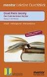 Der Club der toten Dichter/Deads Poets Society. Inhalt. Hintergrund. Interpretation. (Lernmaterialien)