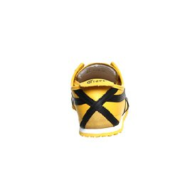 Asics Mexico 66, Scarpe da Ginnastica Unisex – Adulto Giallo (Yellow/Black)