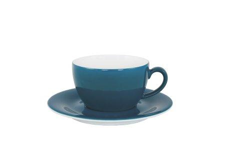 Kahla - Porcelaine pour les Sens 204709A70773C Pronto Colore Tasse à Petit Déjeuner Bleu/Vert 11 cm