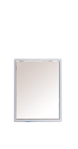 Titania Miroir de poche carré couleurs assorties Env. 8,5 x 6 cm, sur Skin Carte, différentes couleurs, 1er Pack (1 x 40 g)