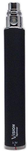 Vision - Spinner Ego Batterie Réglable De 3.3-4.8 V 1300 mah - Sans Nicotine Ni Tabac - Noir