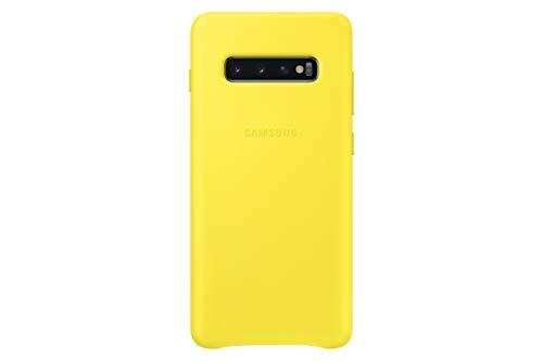 Samsung Leather Cover, funda oficial para Samsung Galaxy 10+, color rojo