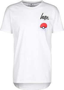 Hype Pokeball Pocket T-Shirt Weiß