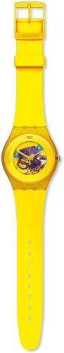 Swatch Mädchen-Armbanduhr Analog Plastik SUOJ100 - 2