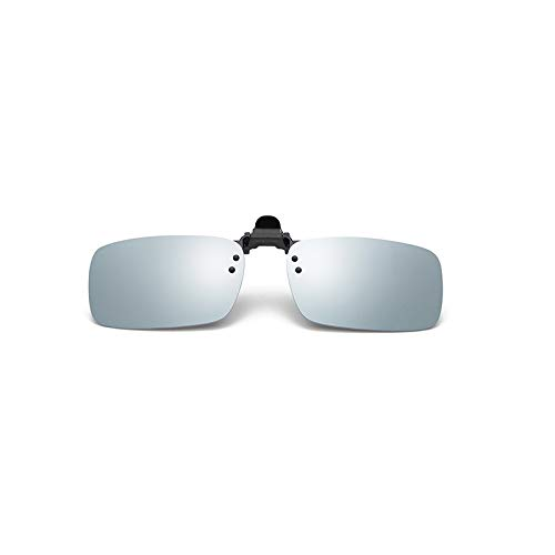 SNXIHES Sonnenbrillen Clip On Sonnenbrille Männer Frauen Polarisierte Myopie Brille Verspiegelte Linse Brille Schutzbrille Angeln Oculos 5