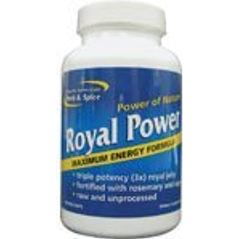 North American Herb & Spice Royal Power - 90 Capsules, (image may vary) by North American Herb & Spice