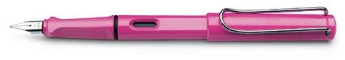 lamy-safari-fountain-pen-pink-medium-nib