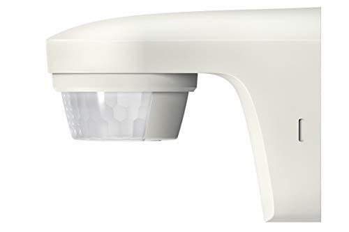 Theben theluxa s180 wh rilevatore di movimento pir a 180° per esterni, con grado di protezione ip55, bianco 1010505