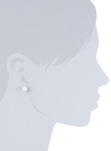 Vinani Damen-Ohrstecker Igelblume groß glänzend Sterling Silber 925 Ohrringe OIK - 3
