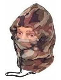 Fleece Full Snood Balaclava Neck Warmer Camouflage