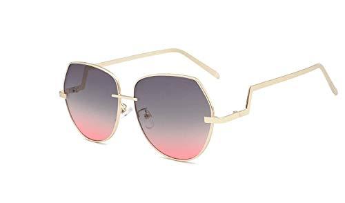 WUJIEXIAN-JXL Retro Sonnenbrille Ocean Zweifarbige, unberechenbare Sonnenbrille Outdoor-Brille (Color : A) -