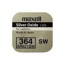 Maxell - SR621SW / 5 unidades