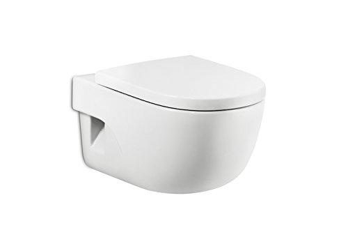 Roca A8012AB004 – Meridiano-n –WC-Sitz für WC Meridiano-n Kompakt weiß 41.5 x 36 cm