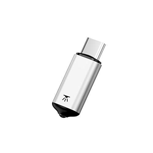 DZSF Mini Universal Fernbedienung für Air Mouse USB Typ C Smart IR Controller Adapter für Android TV Kompatibel mit verschiedenen Haushaltsgeräten,Red (Remote Feuer Ersatz)