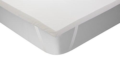 Classic Blanc - Surmatelas en mousse à mémoire Thermorégulateur, épaisseur 5cm. 180x200 cm-Lit 180