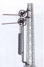 Sommerfeldt 176 Oberleitung H0 HO Doppelradspannwerk