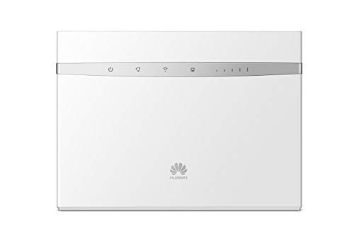 Huawei B525-4g 300mbps Mobile Wifi Router, Unlocked To All Networks  -genuine Uk Warranty Stock (non Network Logo)- White