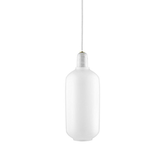 Normann Amp Pendant Lamp White White - Large