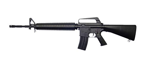 Well Fusil Airsoft M16 A1 à Ressort/Spring/Rechargement Manuel (0.5 Joule)