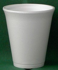 1250x Glühweinbecher weiss 200ml 80x90mm Styroporbecher Kaffebecher