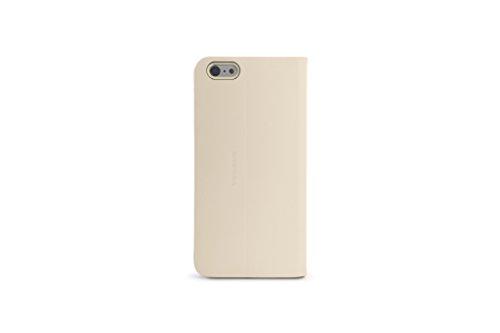 Tucano IPH6S4LO Libro Schutzhülle für Apple iPhone 6, 6S Elfenbein