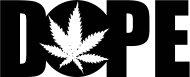 Mister Merchandise T-Shirt Dope Cannabis Marihuana - Uomo Maglietta Rosa