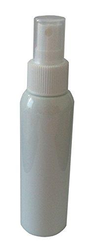 Flasche mit Zerstäuber 100ml weiß - blickdicht - PET - lebensmittelecht