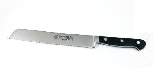 Brotmesser geschmiedet Profi Brot Messer Marsvogel Solingen # 380811 /// durchgehende Klinge /// dreifach genietete Griffschalen aus POM
