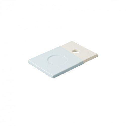 REVOL RV648905 Petite Planche Color Lab, Porcelaine, Bleu, 14 x 9 x 0,8 cm