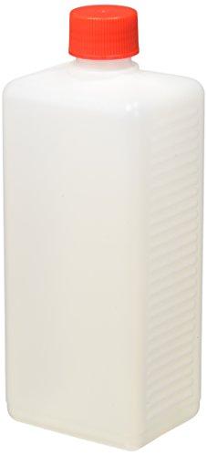 neoLab E-6921 Enghals-Vierkantflasche, 500 mL Nennvolumen mit Schraubverschluss