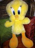 Warner Bros weichem Plüsch, flauschig, 60.96 cm, Jumbo, Extra groß, Tweetie-Tweety Pie-Looney Tunes