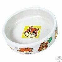 Trixie Gamelle En Céramique Avec Motif pour hamsters, 90ml, Blanc