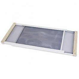 Frost King WB Marvin AWS1045 Adjustable Window Screen, 10in High x Fits 25-45in Wide by Frost King