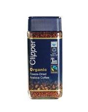 Clipper Fairtrade Bio Instant Gefriergetrocknete Kaffee 100g