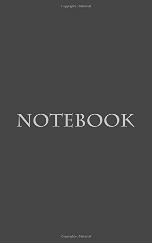 Notebook: Classic Premium Writing Notebook, Journal, Diary, 5