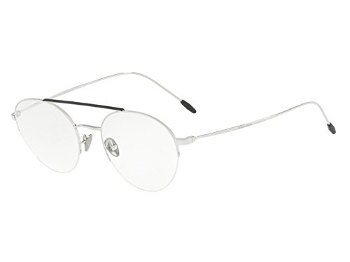 Giorgio Armani - FRAMES OF LIFE AR 5066, Pilot (tropfenförmig) Stahl Herrenbrillen