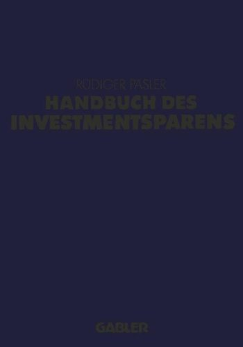 Handbuch des Investmentsparens