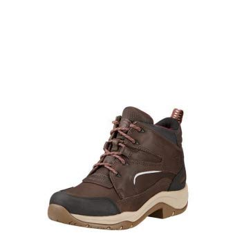 ARIAT Damen Reitschuhe Telluride II H2O wasserdicht, Dark Brown, 8.5 (42.5) - 2 Dark Brown Schuhe