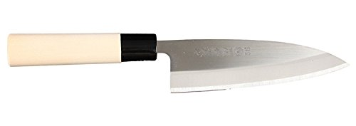 Sanetatsu Japanisches Deba Küchenmesser 150mm Rostfreier Stahl Made in Japan