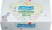 babylove Baby-Pflegetücher, 1 x 100 St